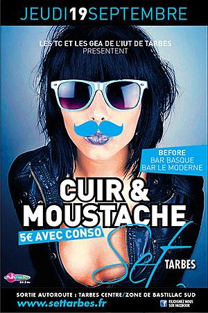 40x60 Set Cuir & Moustache