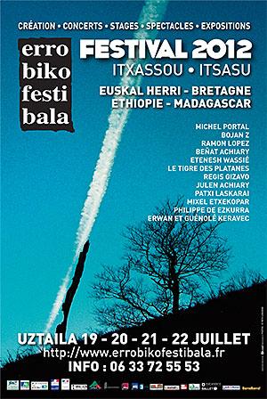 Affiche Errobiko Festibala 2012