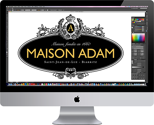 logo Maison Adam
