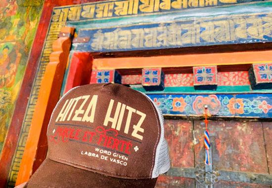 casquette marque textile hitza hitz au tibet